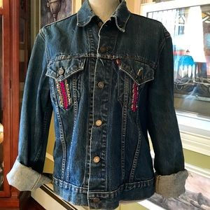 Levi's Jackets & Coats - Upcycled Levi Denim Jacket
